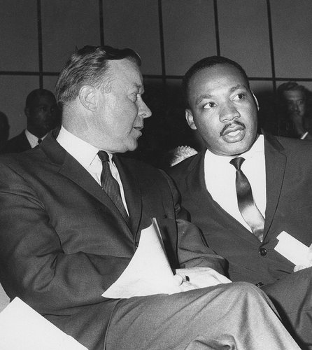Martin Luther King, Jr, and Walter Reuther