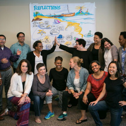 Lab participants at the final convening