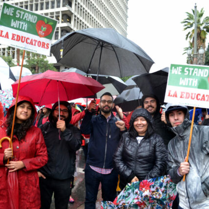 ELACC at the UTLA strike