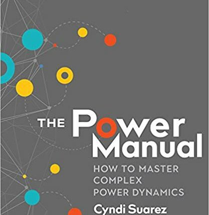 Cover: The Power Manual: How to Master Complex Power Dynamics by Cyndi Suarez