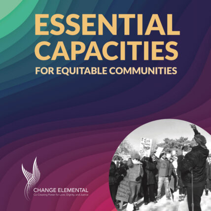 Cover: Essential Capacities for Equitable Communities