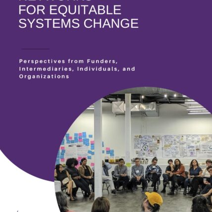 Resourcing Networks for Equitable Systems Change: Perspectives from Funders, Intermediaries, Individuals, and Organizations